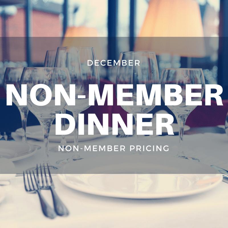 December Non-Member Dinner