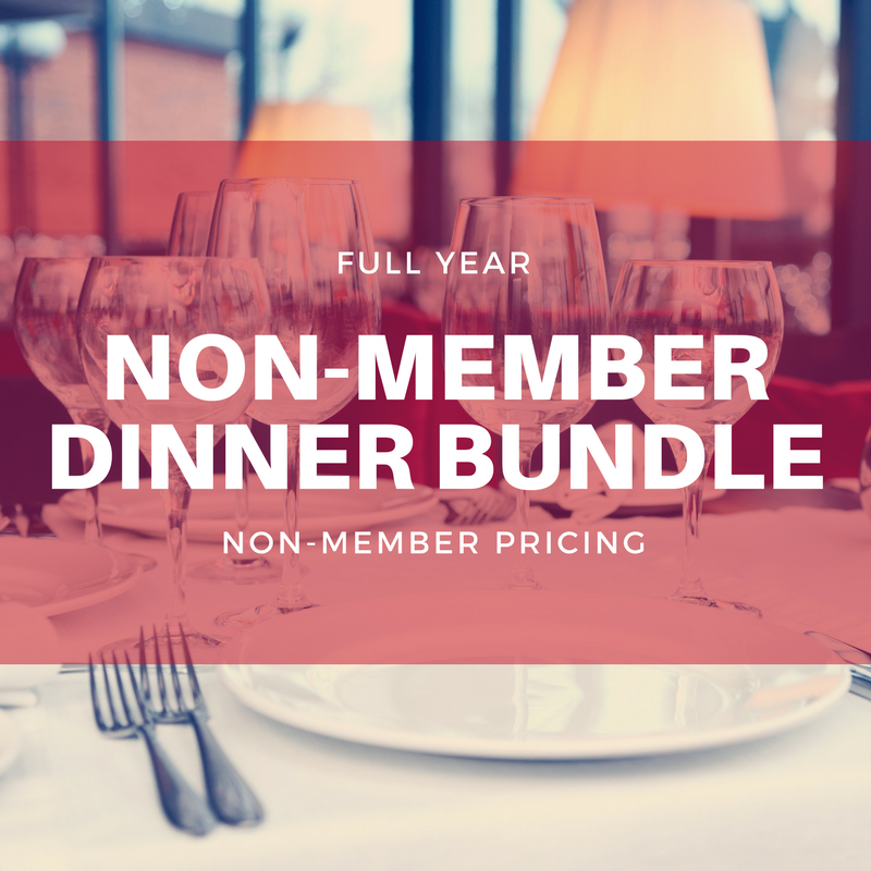 Full Year Non-Member Dinner Bundle