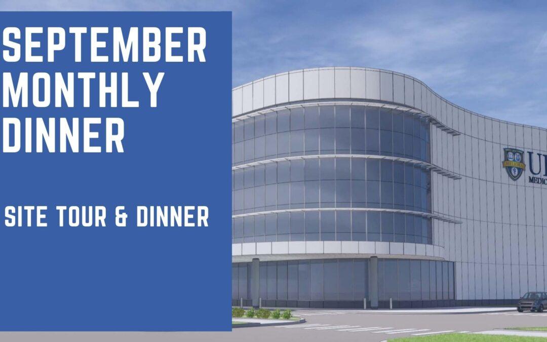 September Monthly Dinner
